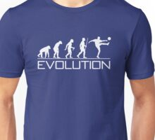 Evolution of Soccer Unisex T-Shirt