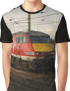 Virgin Trains East Coast 82229 at Peterborough Graphic T-Shirt
