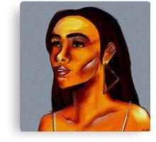 Melanin Canvas Print
