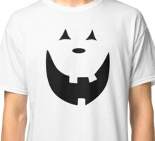 Happy Jack O'Lantern Face Classic T-Shirt