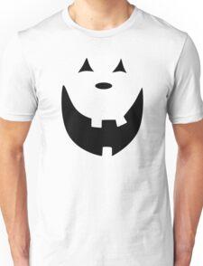 Happy Jack O'Lantern Face Unisex T-Shirt