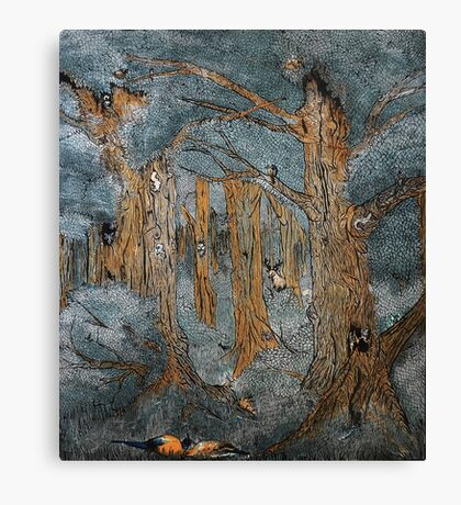 Patina Forest Canvas Print