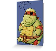 Poor Mikey Greeting Card
