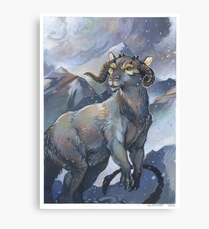 tauntaun - monarch of hoth Canvas Print