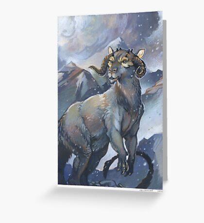 tauntaun - monarch of hoth Greeting Card