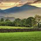 Sunset over catbells by Southernlass