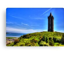 Scrabo Tower Canvas Print