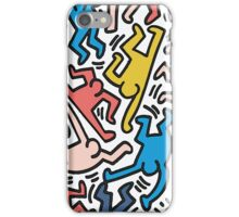 Haring Homage : Outback Sky iPhone Case/Skin