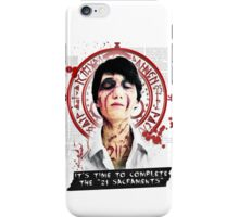 "Silent Hill - It's time to complete the ""21 Sacraments"" iPhone Case/Skin"