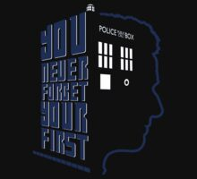 You Never Forget Your First - Doctor Who 12 Peter Capaldi Kids Tee
