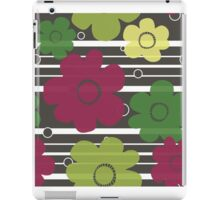 Layered Floral iPad Case/Skin