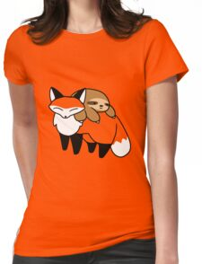 Sloth and Fox Womens Fitted T-Shirt