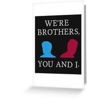 Mutant Brothers Greeting Card