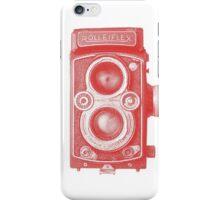 Red Rolleiflex iPhone Case/Skin
