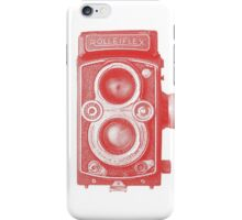 Red Rolleiflex iPhone Case/Skin