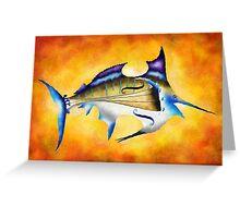 Marlinissos V1 - violinfish Greeting Card