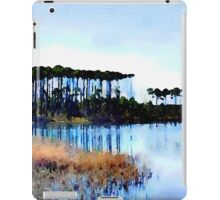 Tall Stand of Trees on Grayton Beach 30a iPad Case/Skin