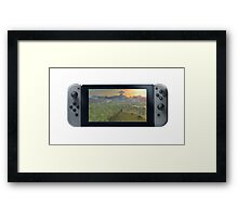 Nintendo Switch Controller (Oil Paint Edition) Framed Print