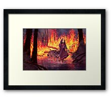 Protectress Framed Print