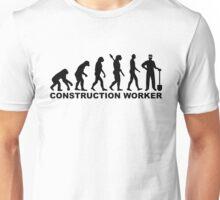 Evolution construction worker Unisex T-Shirt