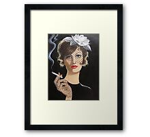 When Smoking Was Fashionable Framed Print