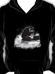 Alan Wake 'I can't going like this....' - black version T-Shirt