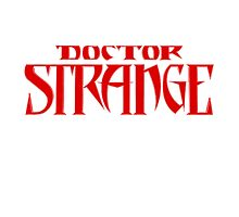 Dr Strange Photographic Print