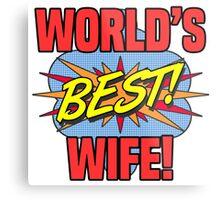 World's Best Wife Metal Print