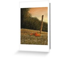 """October in the South""... prints and products Greeting Card"
