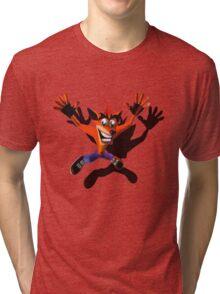 Marsupial falling Tri-blend T-Shirt