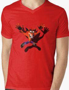 Marsupial falling Mens V-Neck T-Shirt