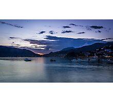 Twilight Time on Seaside Photographic Print