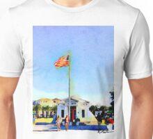 Sea Side Florida Post Office 30a Unisex T-Shirt