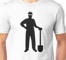 Construction worker Unisex T-Shirt