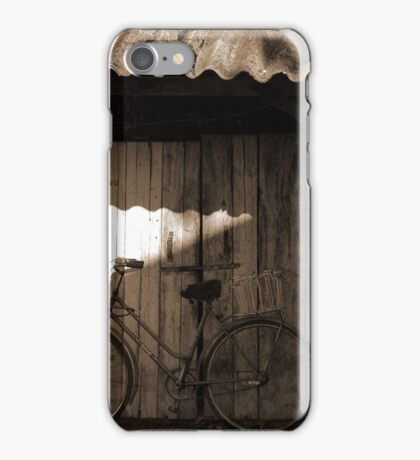 old bicycle iPhone Case/Skin