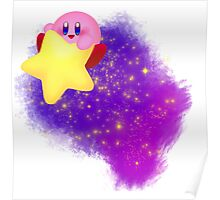 Space Kirby Poster