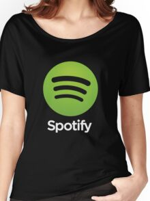 spoofy s.p.o.t.i.f.y spotify premium Women's Relaxed Fit T-Shirt