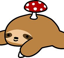 Sloth and Mushroom by SaradaBoru