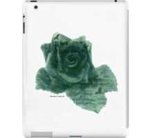 A Little Bird Whispered To Me - Digital Rose iPad Case/Skin