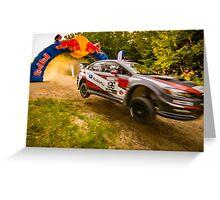 Travis Pastrana Subaru Red Bull Jump Greeting Card