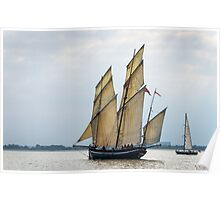 All Fair for Greenwich Tonight ~ Tall Ships Regatta 2014 Poster
