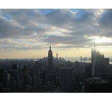 Empire State Building photography Photographic Print