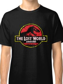 the lost world j.u.r.a.s.s.i.c p.a.r.k jurassic park Classic T-Shirt