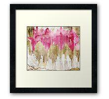 Opulence Rose Framed Print