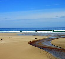 Meandering Waters, Tolsta Beach, Isle of Lewis by kathrynsgallery