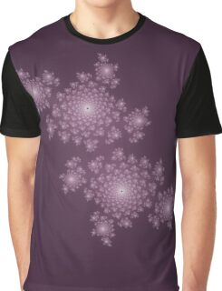 Fractal Coral - Lilac Graphic T-Shirt