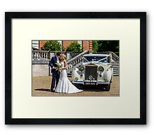 Our Eldest Daughter's Wedding Day  Framed Print