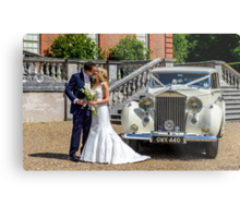 Our Eldest Daughter's Wedding Day  Metal Print