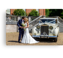 Our Eldest Daughter's Wedding Day  Canvas Print