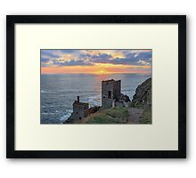Crown Mines - Botallack, Cornwall. Framed Print